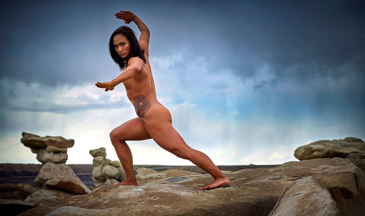 Michelle Waterson - ESPN The Body Issue 2017 / photo by Mark Seliger