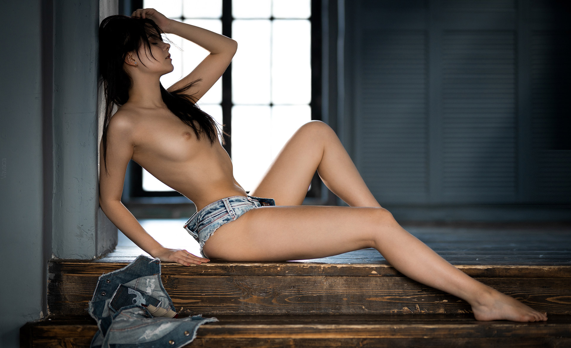 Victoria Sokolova nude by Vladimir Nikolaev