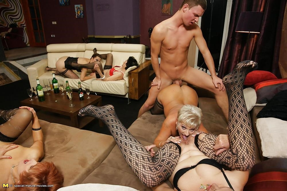 Group sex with mom-7490