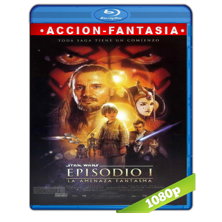 Star Wars Episodio I La Amenaza Fantasma (1999) BRRip Full 1080p Audio Trial Latino-Castellano-Ingles 5.1