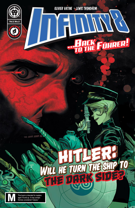 Infinity 8 Back to the Führer #1-3 (2018)