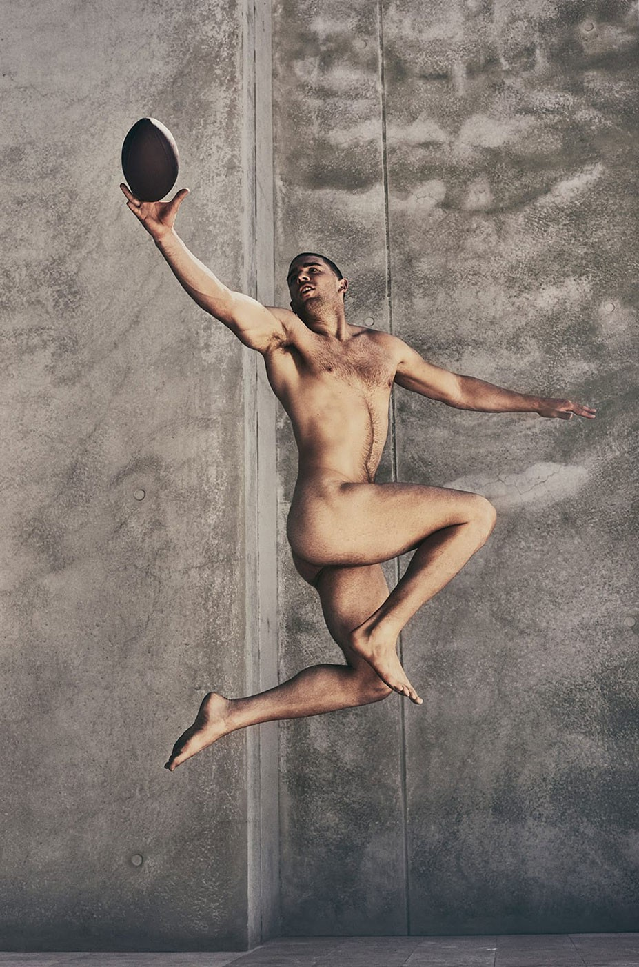 Julie and Zach Ertz - ESPN The Body Issue 2017 / photo by Carlos Serrao