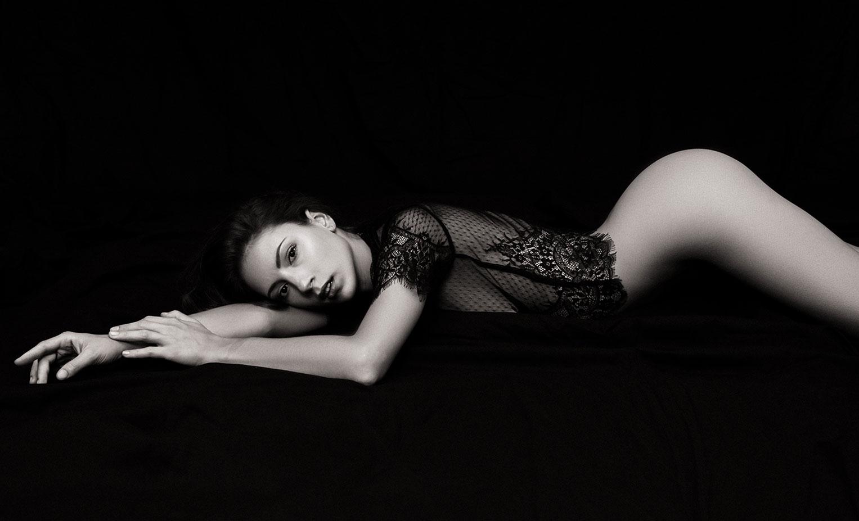 Голая модель Милунель, фотограф Бенджамин Вингриф / фото 17