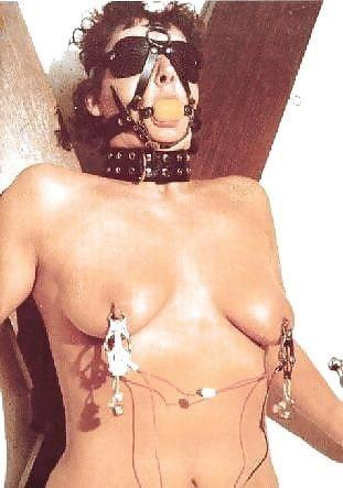 Bondage and gagged girl-4473
