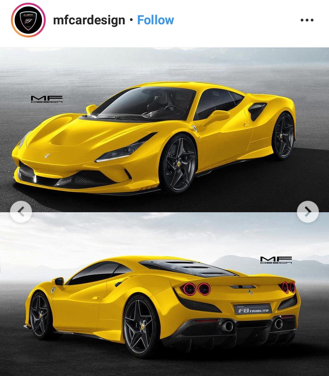 Immagini F8 Tributo Ferrari: [情報] 新Ferrari F8 Tributo 720匹 2.9秒 (488)