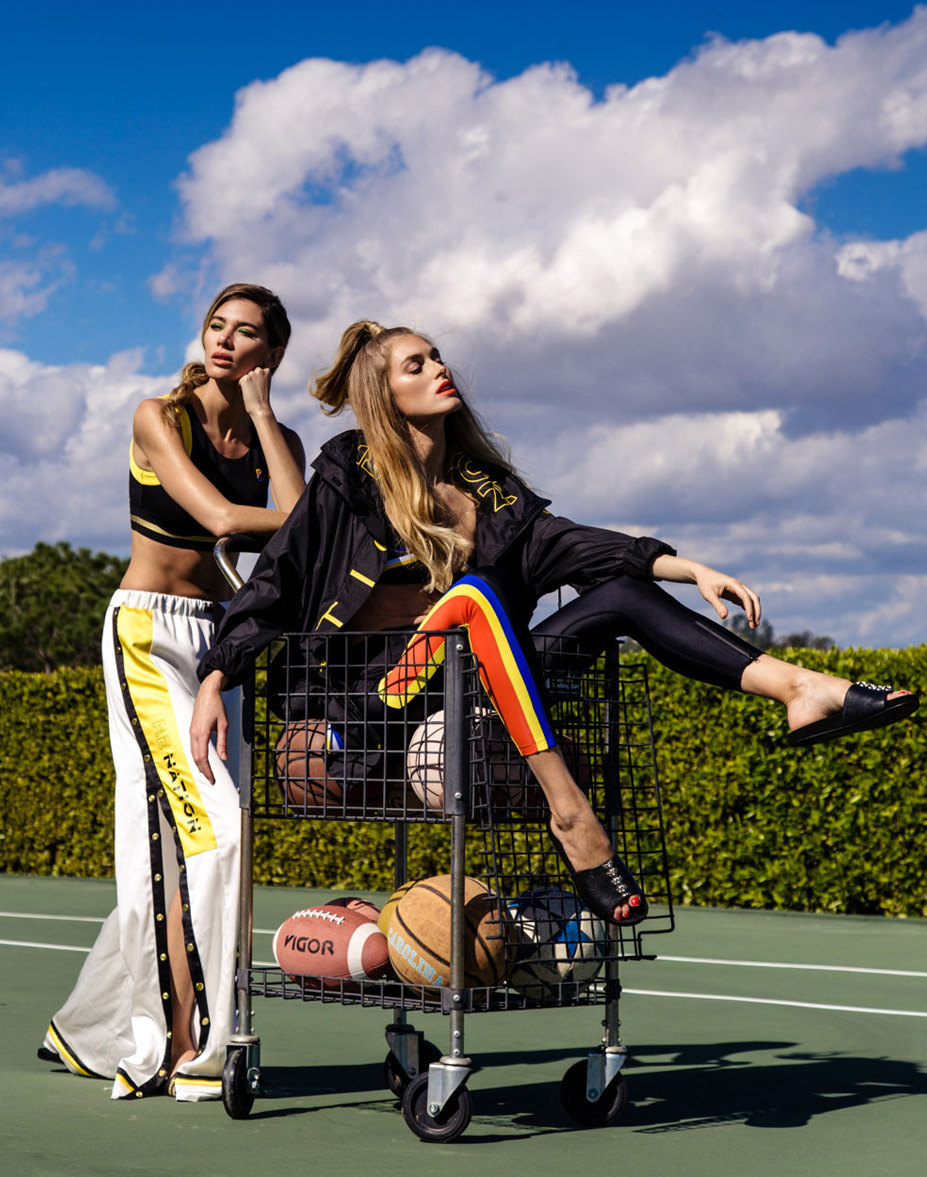 Bo Janicic and Maggi Mae by Monica Baddar - The Goal Keeper for Sticks and Stones Agency