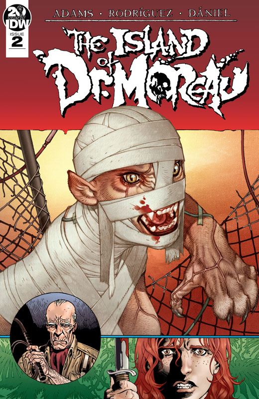 The Island of Dr. Moreau #1-2 (2019)