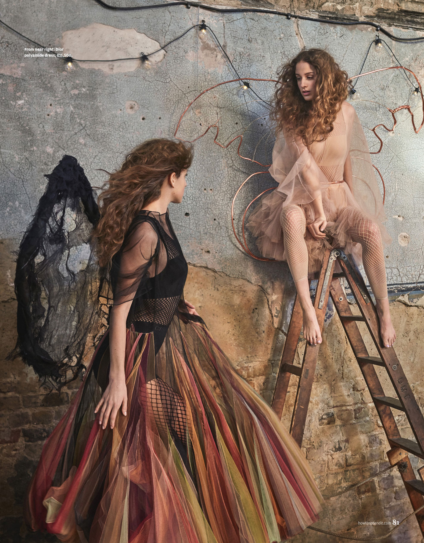 Wings of Desire / Coco Konig by Mariano Vivanco / Financial Times How To Spend It march 2019