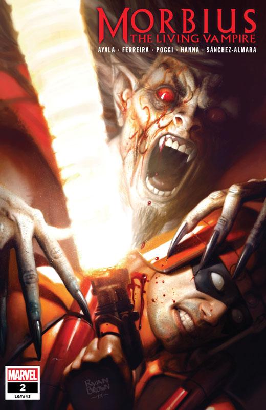 Morbius #1-5 + OS (2020-2021) Complete