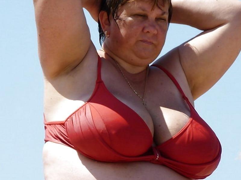 Nude big boobs on beach-1696