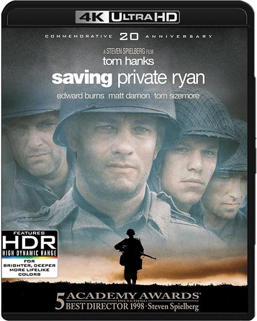 Szeregowiec Ryan / Saving Private Ryan (1998) V2.MULTi.REMUX.2160p.UHD.Blu-ray.HDR.HEVC.ATMOS7.1-DENDA / LEKTOR i NAPISY PL