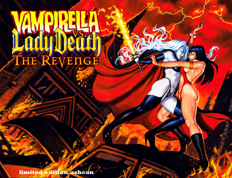 Vampirella vs. Lady Death - The Revenge - Ashcan (Harris - 1999)