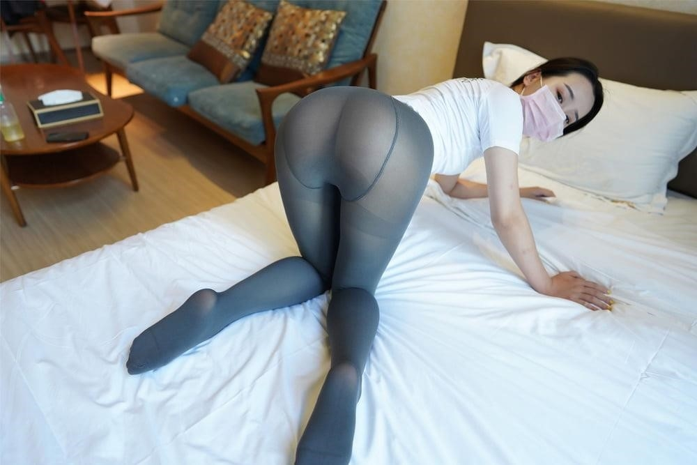 Japanese pantyhose feet-6789