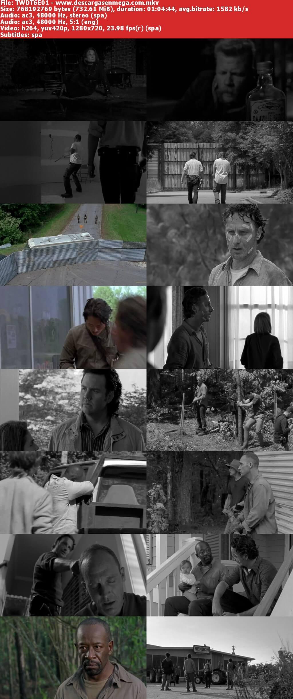 Capturas Walking Dead Temporada 6 Mega