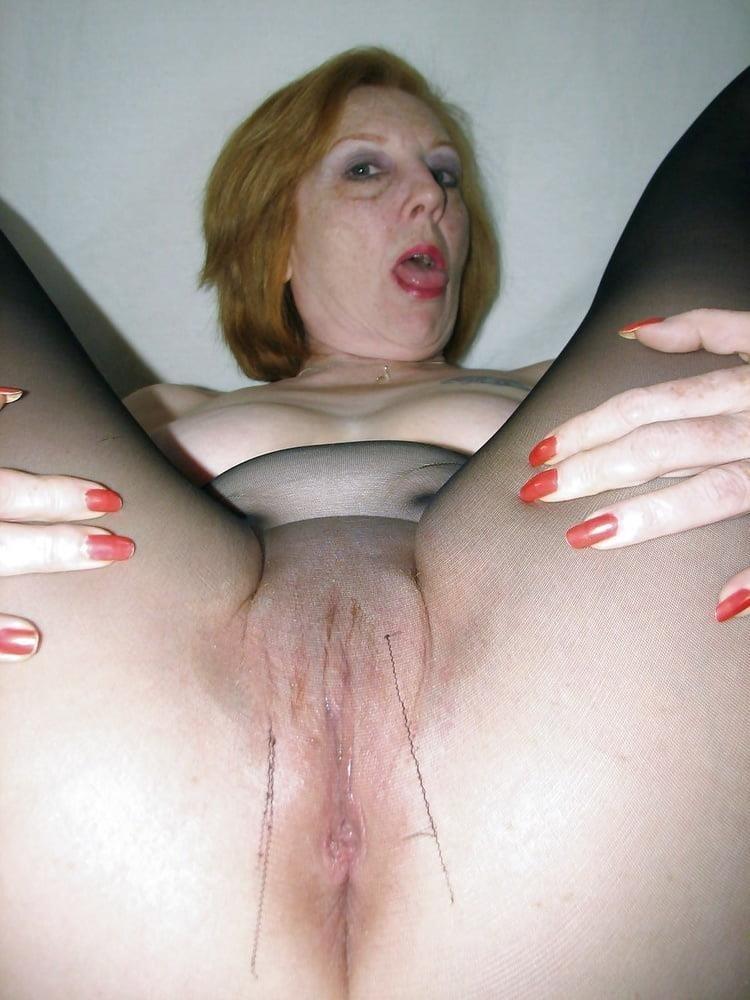 Ginger granny anal-1495