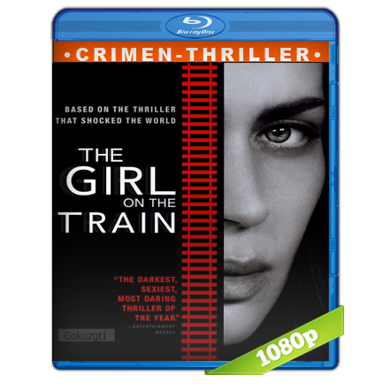 La Chica Del Tren 1080p Lat-Cast-Ing[Crimen](2016)
