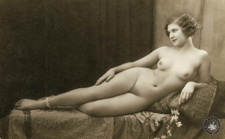 Vintage hairy nude-6400