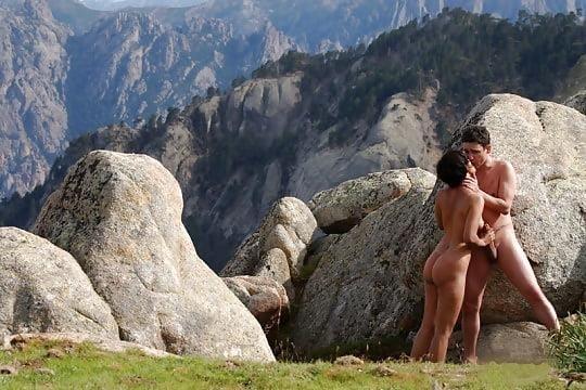 Nude beach sex in public-6983