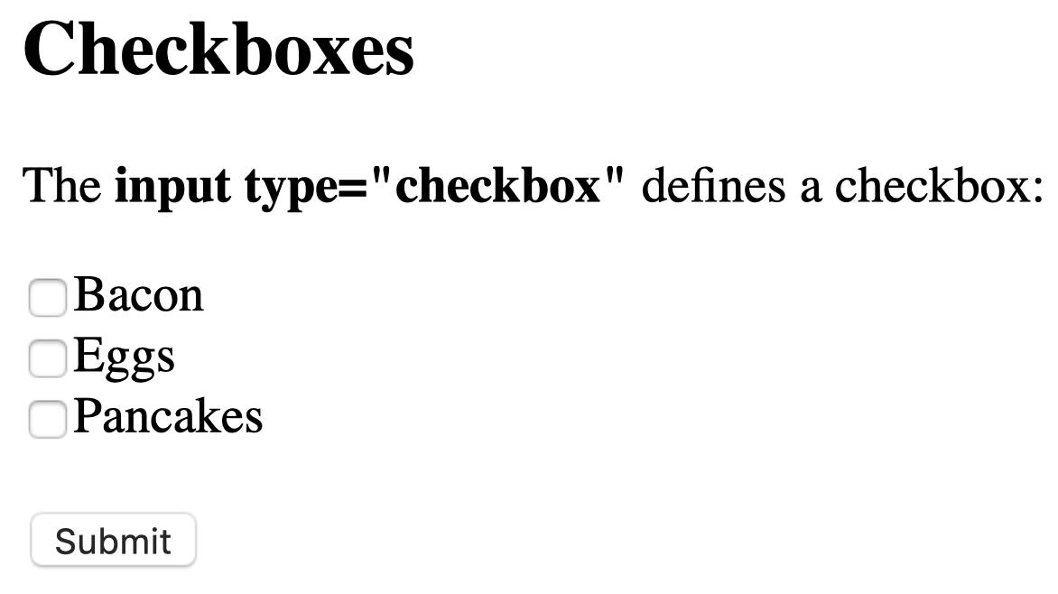 checkbox type render