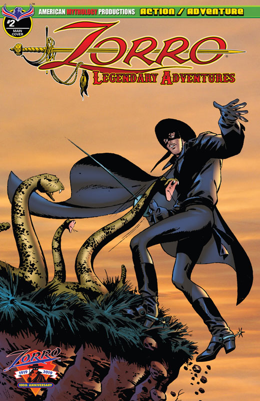 Zorro - Legendary Adventures #1-4 (2018-2019) Complete