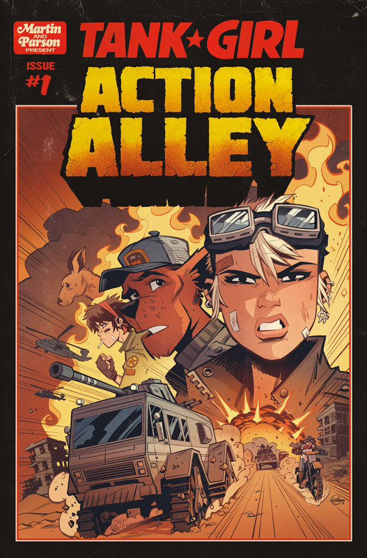 Tank Girl - Action Alley #1-4 (2019)
