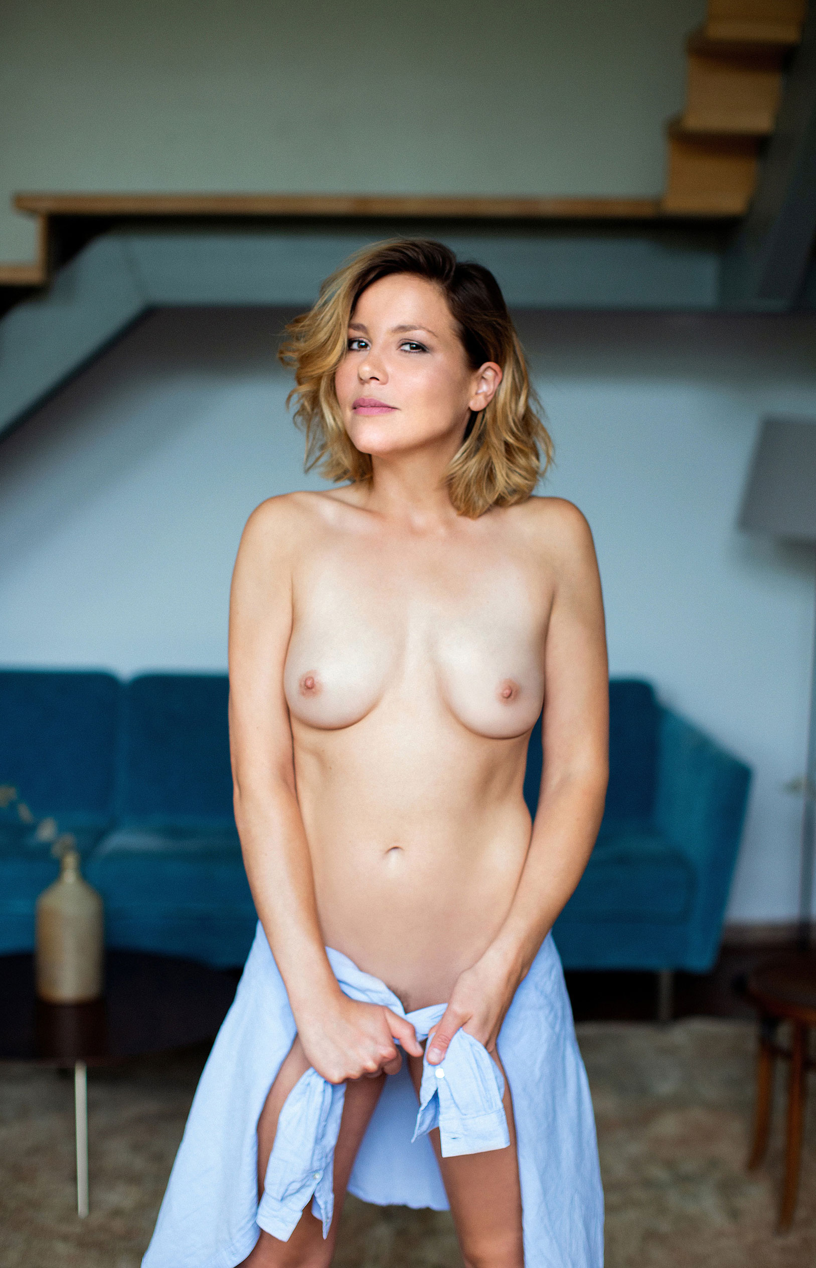 Актриса Франциска ван дер Хейде в журнале Playboy Германия, сентябрь 2020 / фото 11