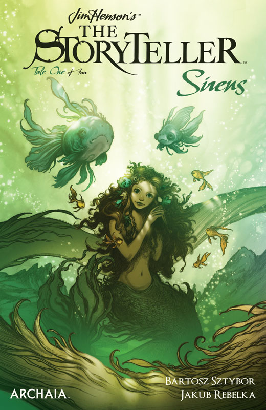 Jim Henson's The Storyteller - Sirens #1-4 (2019) Complete