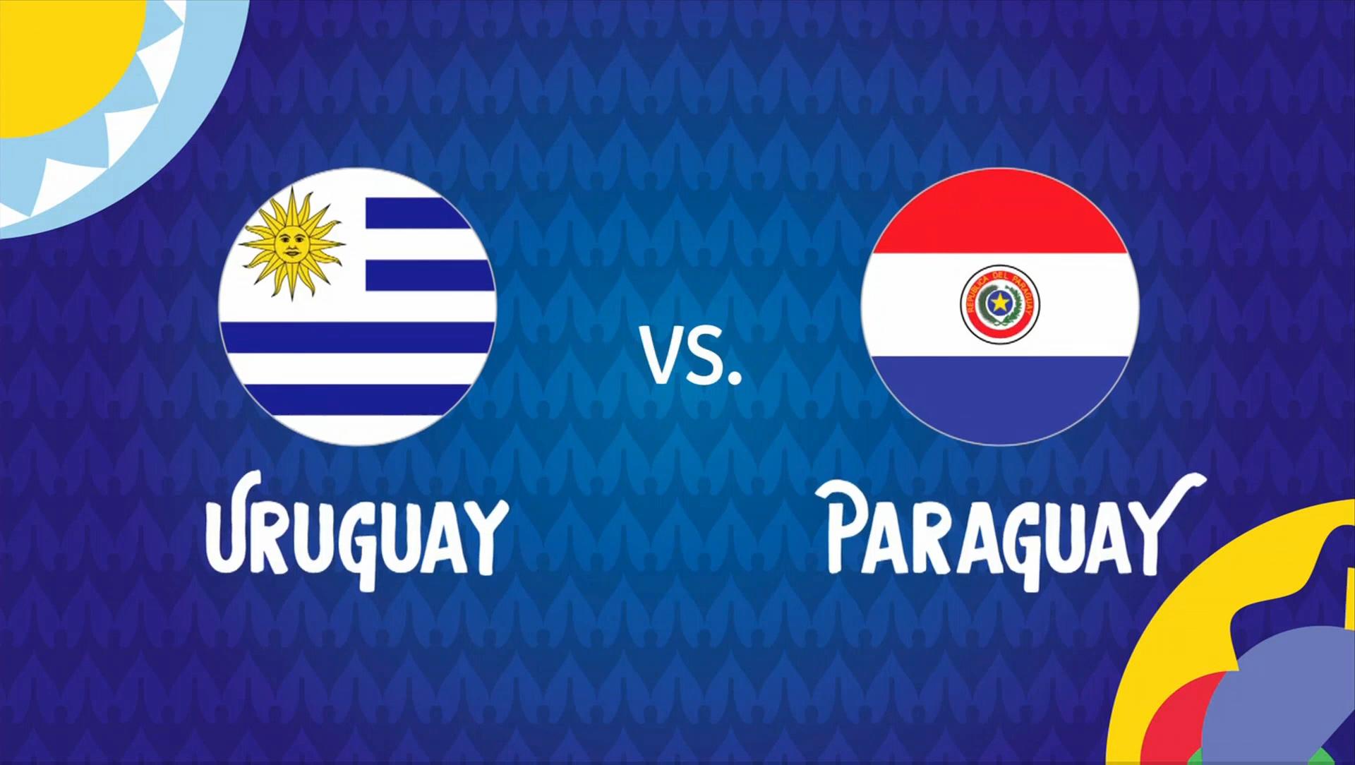 Full match: Uruguay vs Paraguay