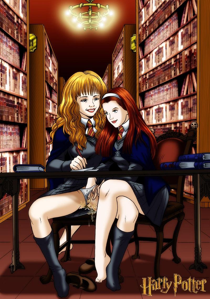 Kreslený hermione porno