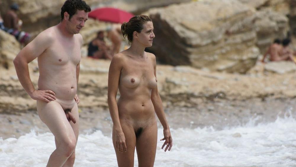 Hot girls naked at beach-1124