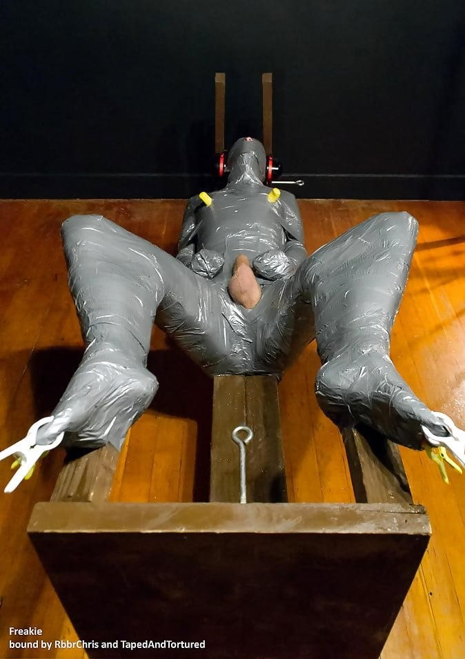 Mummification bondage girl-7551