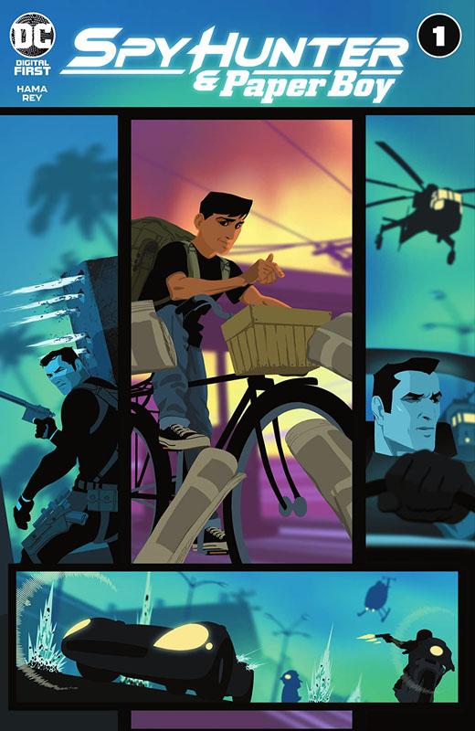 Spy Hunter & Paper Boy #1-6 (2021)