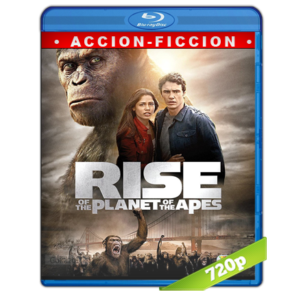 El Planeta De Los Simios Revolucion (2011) BRRip 720p Audio Trial Latino-Castellano-Ingles 5.1