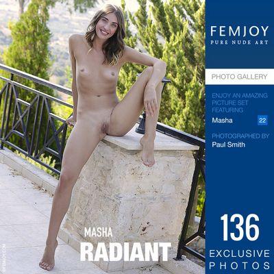 [Femjoy.com] 2020.11.27 Masha (Masha Shy) - Radiant [Glamour] [5000x3334, 136 photos]