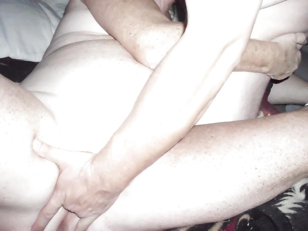 Husband watches wife in threesome-4171