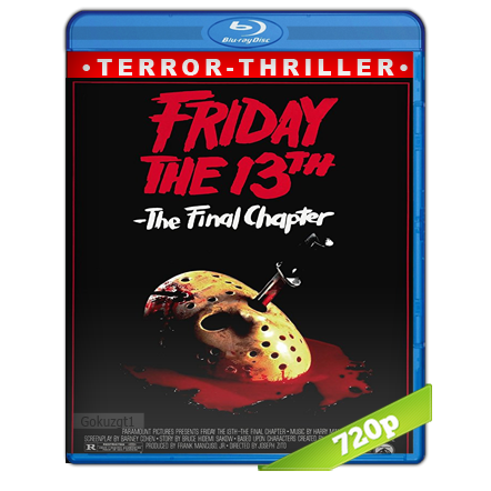 Viernes 13 Parte 4 El Capitulo Final HD720p Audio Trial Latino-Castellano-Ingles 5.1 (1984)