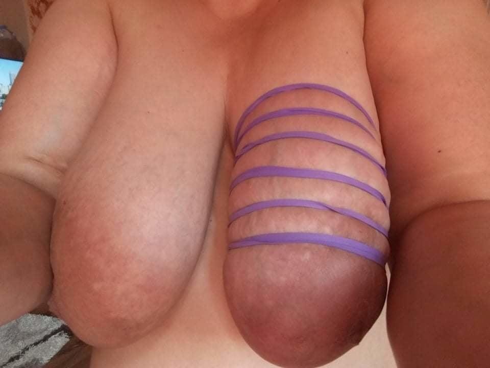 Self breast bondage-1438