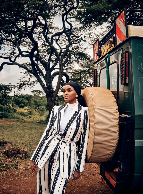 Халима Аден путешествует по Кении / фото 01