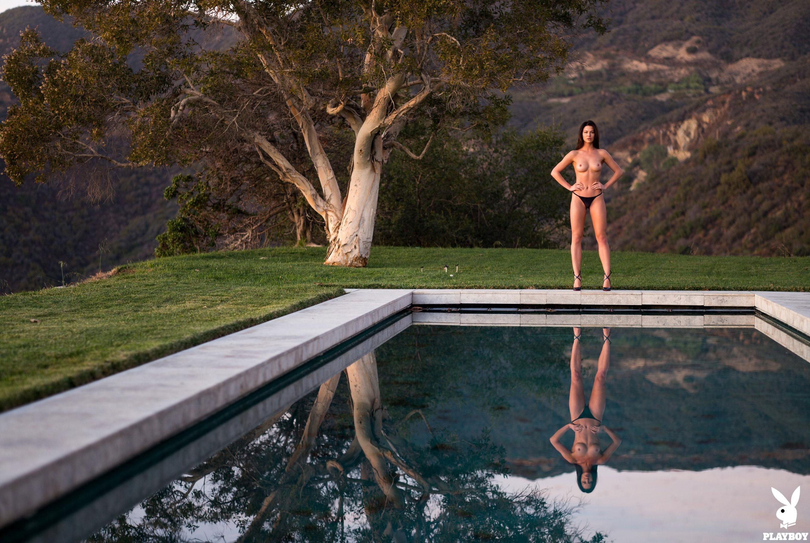 Девушка месяца Jenny Watwood / Playboy США, март 2018 / фото 17