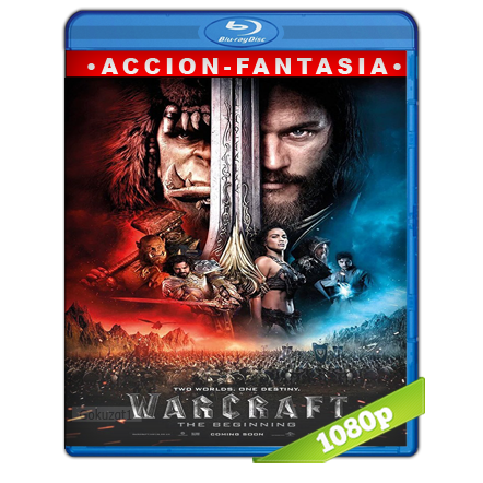 Warcraft El Primer Encuentro De Dos Mundos (2016) BRRip Full 1080p Audio Trial Latino-Castellano-Ingles 5.1