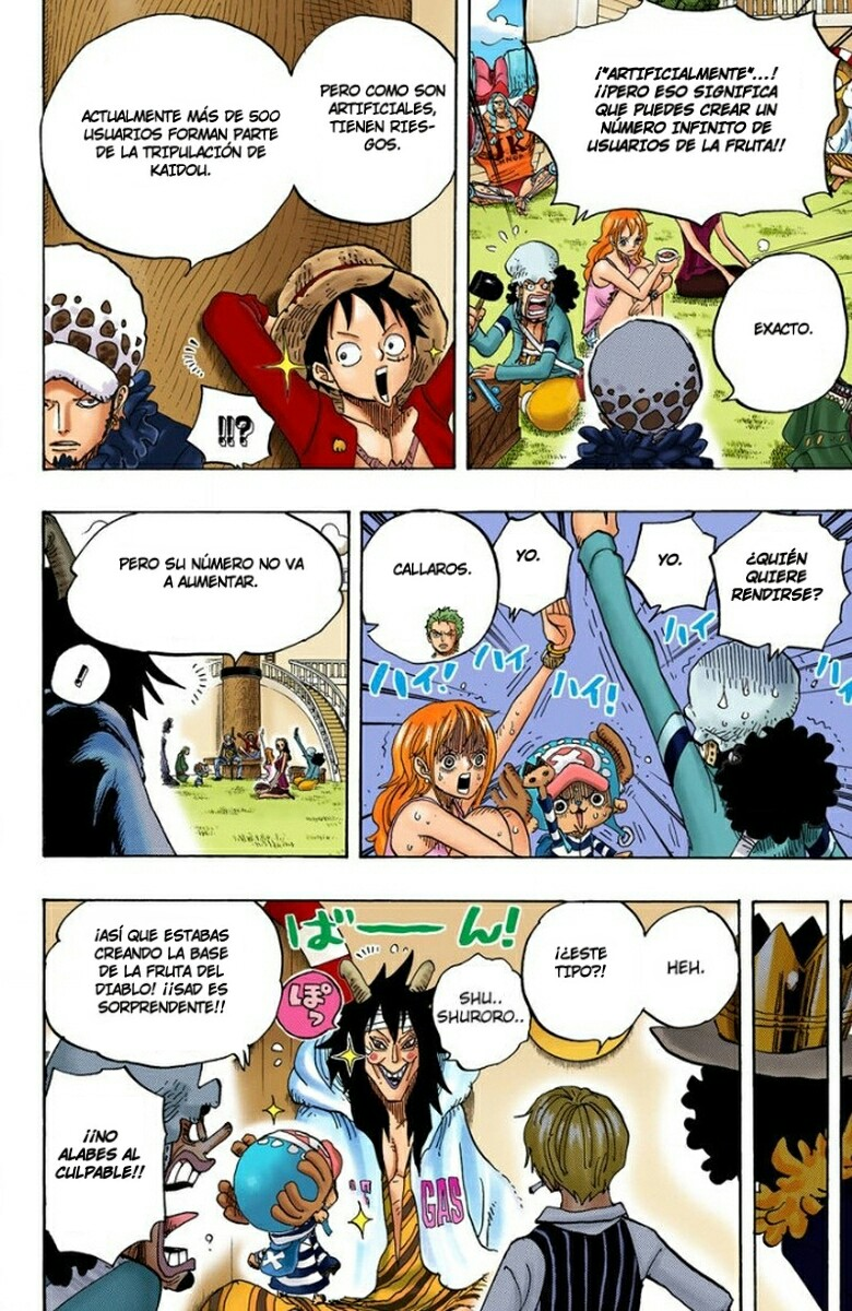 One Piece Manga 698-699 [Full Color] [Punk Hazard] WDuknFYO_o