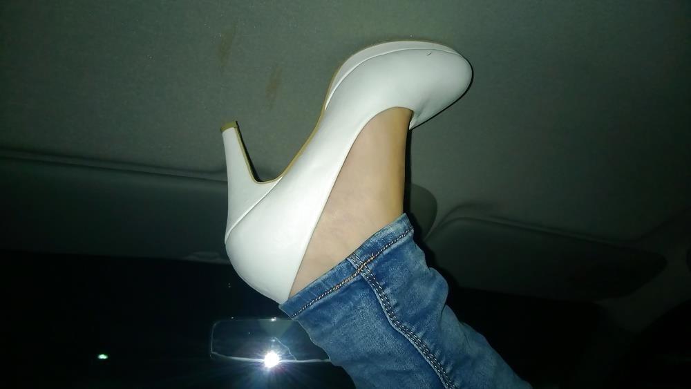 Lesbian foot fetish nylon-2625