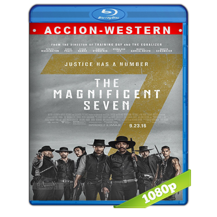 Los Siete Magnificos 1080p Lat-Cast-Ing[Western](2016)