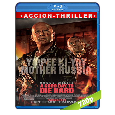 Duro De Matar 5 720p Lat-Cast-Ing 5.1 (2013)