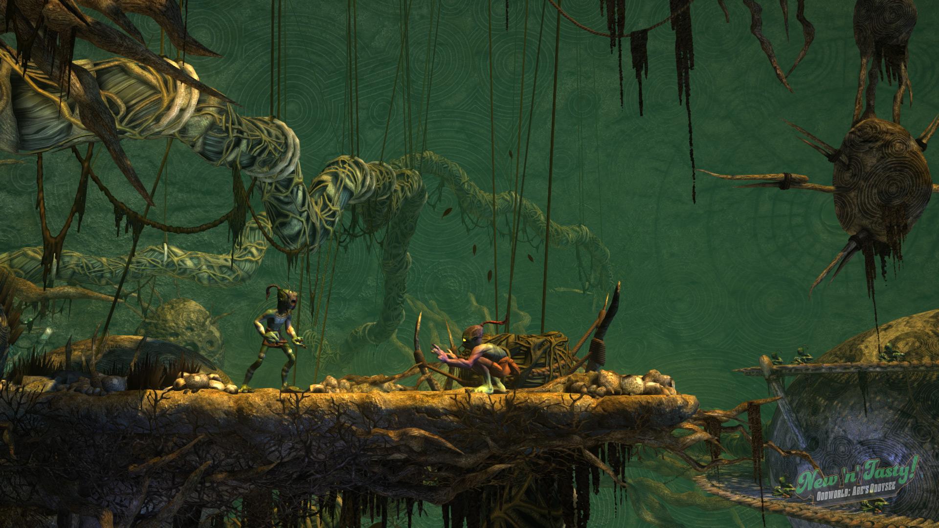 Oddworld: New 'n' Tasty Captura 3