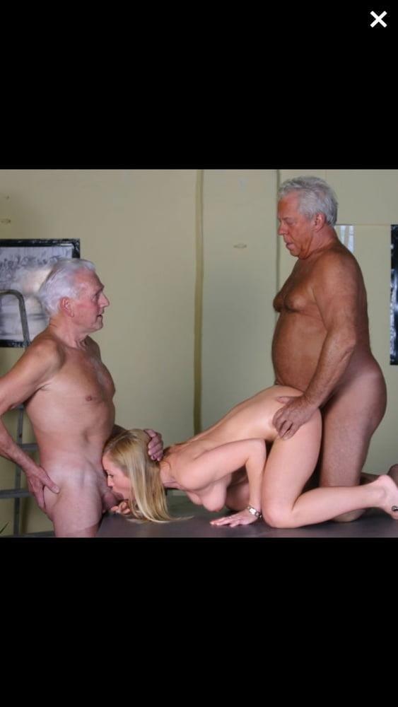 Old man cunnilingus-6002
