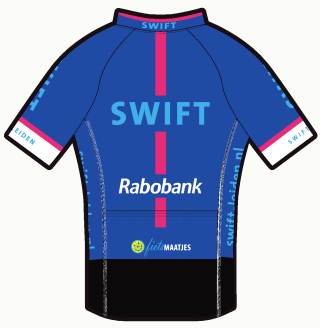 Swift tenue 2017: damesshirt, achterzijde