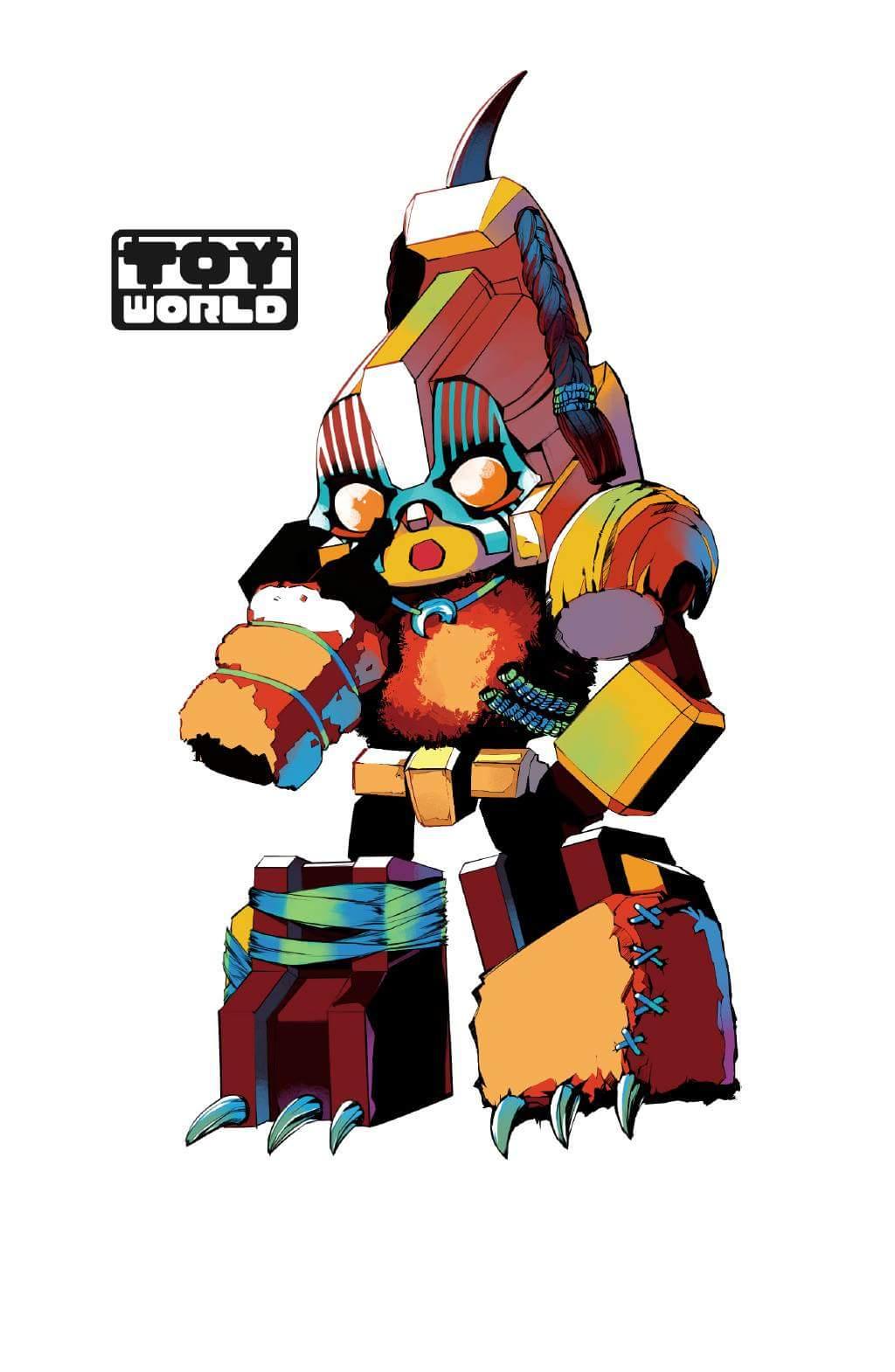 [Toyworld][Cang-Toys] Produit Tiers - Thunderking/Chiyou - aka Predaking/Prédaroi (Prédacons) PagB4kL4_o