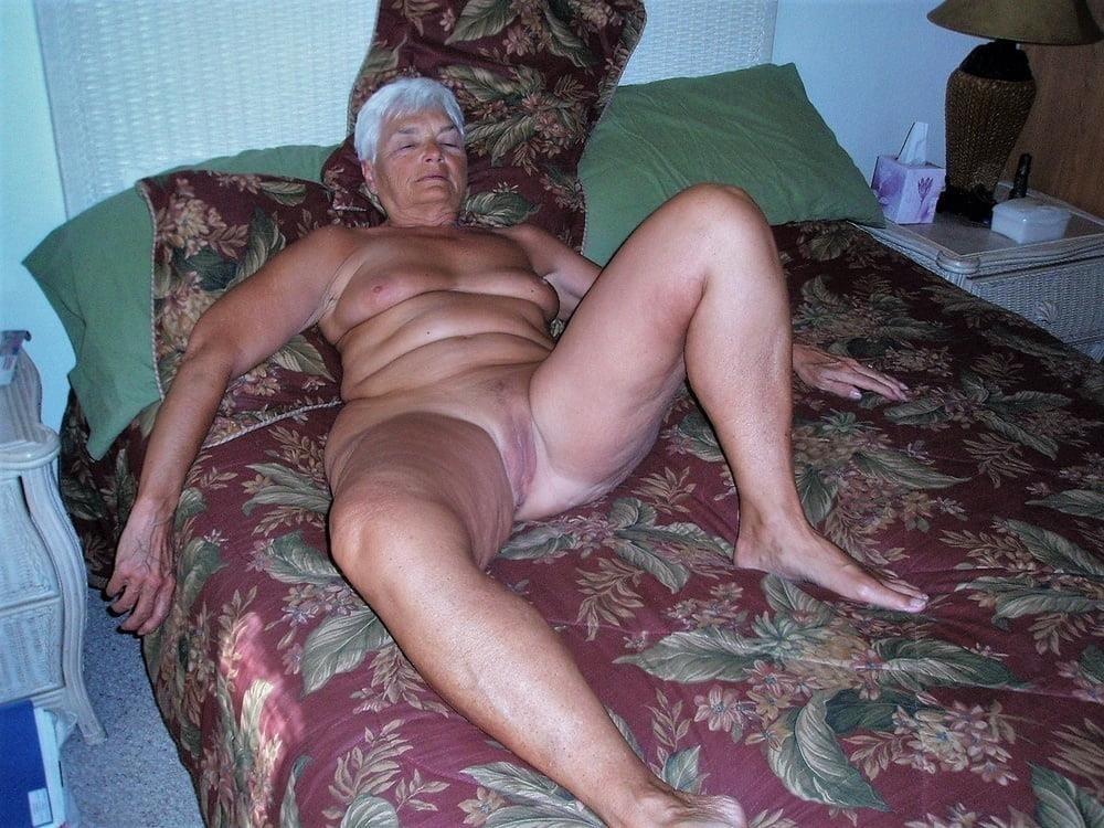 Chubby granny naked-7875