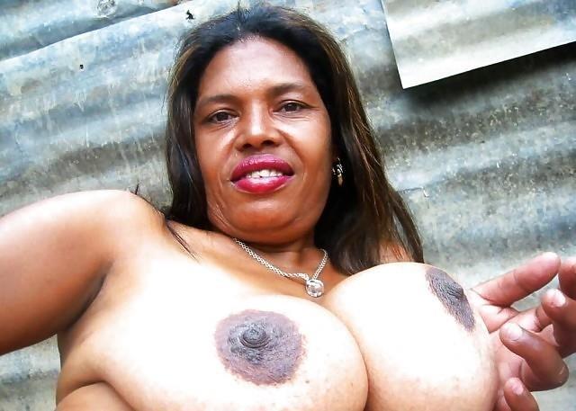 Big black tits sex-6408
